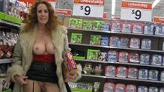 Sexe en Plein Air et Femme Nue en Public